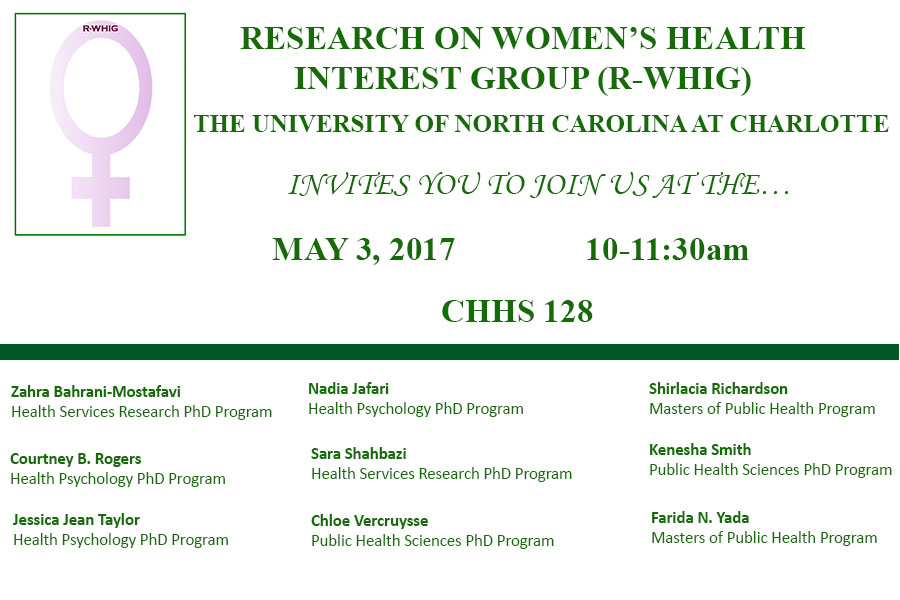 Research on Women's Health Interest Group