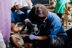 UNC Charlotte nursing student Maggie Johnson
