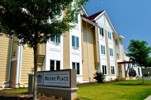 Moore Place permanent supportive housing complex